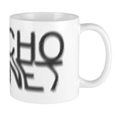 Psycho Magnet BW Glass Effect Mug