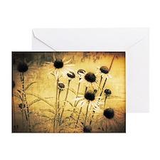 Vintage daisies Greeting Card