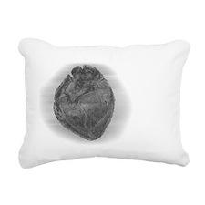 Smaller Heart Glass Effe Rectangular Canvas Pillow