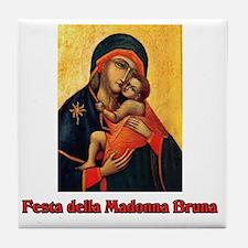 Festa della Madonna Bruna Tile Coaster