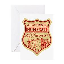 Ginger Ale vintage Greeting Card