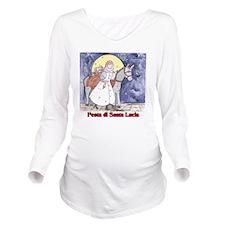 Festa di Santa Lucia Long Sleeve Maternity T-Shirt