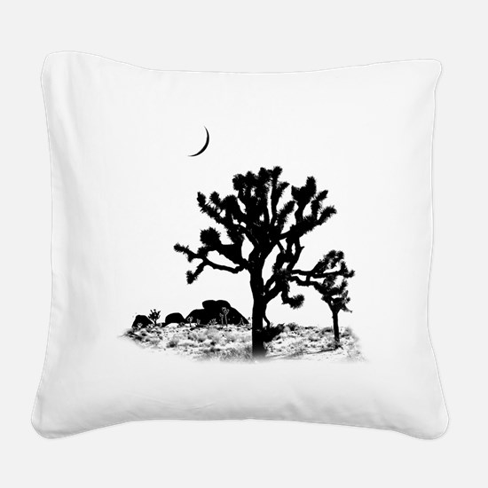 Joshua Tree National Park Square Canvas Pillow