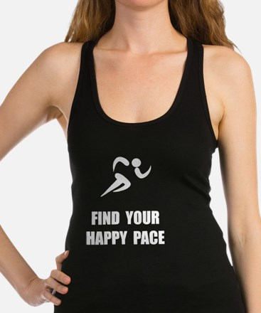 Happy Pace Racerback Tank Top