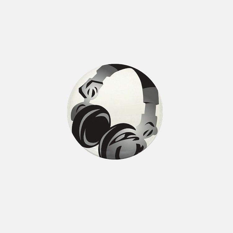 Headphones Mini Button