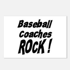Baseball Coaches Rock ! Postcards (Package of 8)