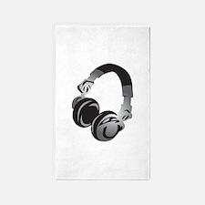 Headphones 3'x5' Area Rug