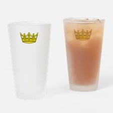 Princess Run Drinking Glass
