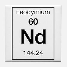 Neodymium Tile Coaster