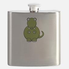 T Rex Masturbation Flask