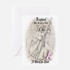 Raphael Breast Cancer ipad Greeting Card