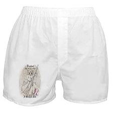 Raphael Breast Cancer ipad Boxer Shorts