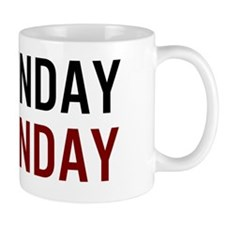 Sunday Funday Black/Red Mug