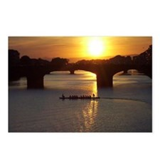 Florence Italy Sunset Postcards (Package of 8)