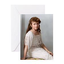 9X12-Sml-framed-print-anastasia Greeting Card