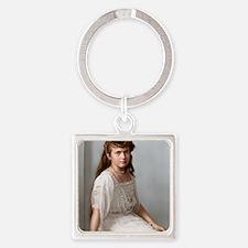 14X10_FramedPrint-Large-anastasia Square Keychain