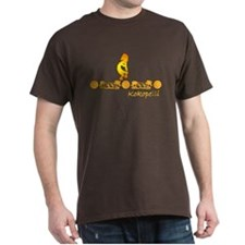 Gold Kokopelli T-Shirt 8 Colors