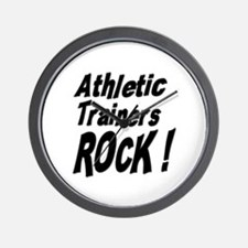Athletic Trainers Rock ! Wall Clock