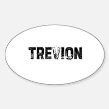 Trevion Oval Decal