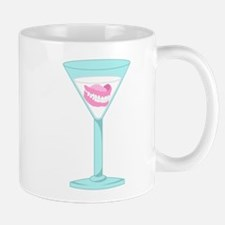 Dentures False Teeth Martini Coffee Mug
