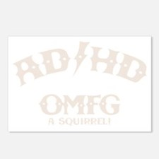 ad-hd-omfg-DKT Postcards (Package of 8)