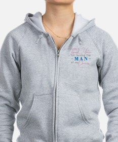 Thank You for Raising the Man Zip Hoody