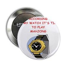 "mahjong 2.25"" Button"