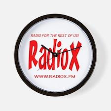 RadioX Wall Clock