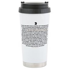 Man in the Arena Travel Mug