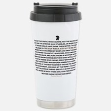 Man in the Arena Travel Mug