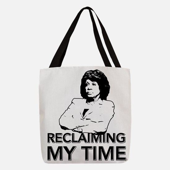 Reclaiming My Time Polyester Tote Bag
