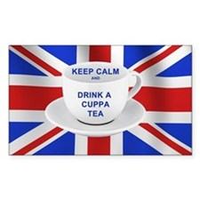 Keep Calm and Drink a Cuppa Te Decal