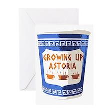 growing up astoria Greeting Card