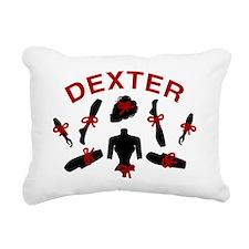 Dexter Dismembered Doll Rectangular Canvas Pillow