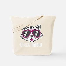 Check Meowt Tote Bag