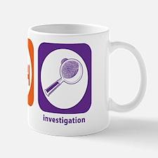 Eat Sleep Investigation Mug