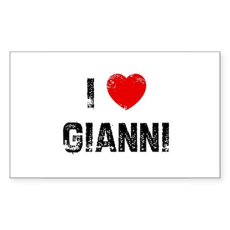 I * Gianni Rectangle Sticker