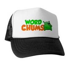 Word Chums Alien Trucker Hat