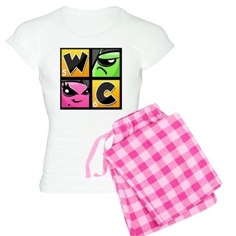 Word Chums Icon Women's Light Pajamas