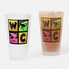 Word Chums Icon Drinking Glass