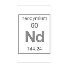 Neodymium Rectangle Decal