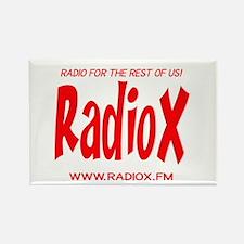 RadioX Rectangle Magnet