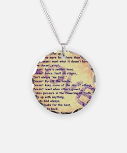 Message of Love Necklace