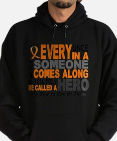 HERO Comes Along 1 Son LEUKEMIA Sweatshirt
