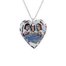 Put On The Foil! Necklace Heart Charm