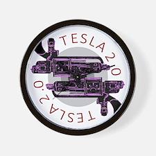 Tesla 2.0 Wall Clock