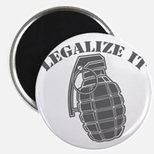 Legalize It - Grenade Magnet