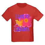 Love Grandpa Kids Dark T-Shirt