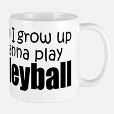When I Grow Up Volleyball Mug