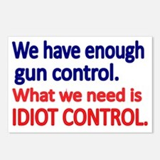 We have enough gun contro Postcards (Package of 8)